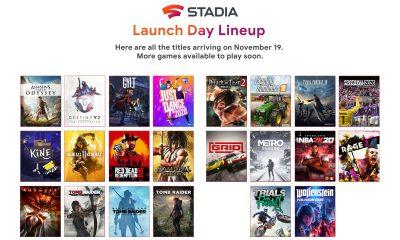 Google annonce 10 nouveaux jeux pour le lancement de Stadia