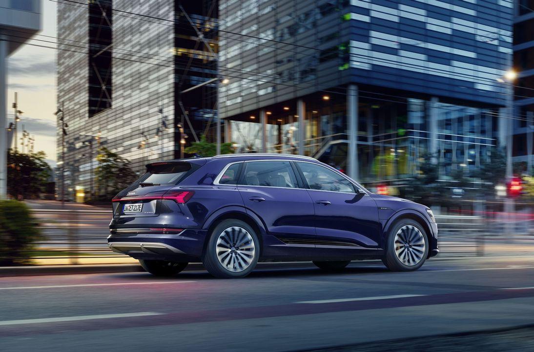 Audi e-tron mise à jour