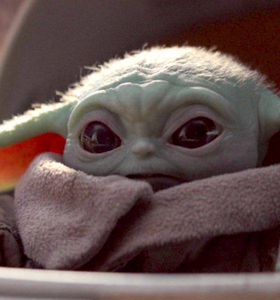 Baby Yoda dans The Mandalorian