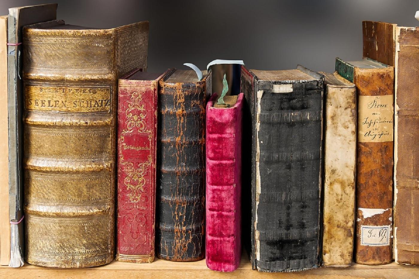 Des vieux livres