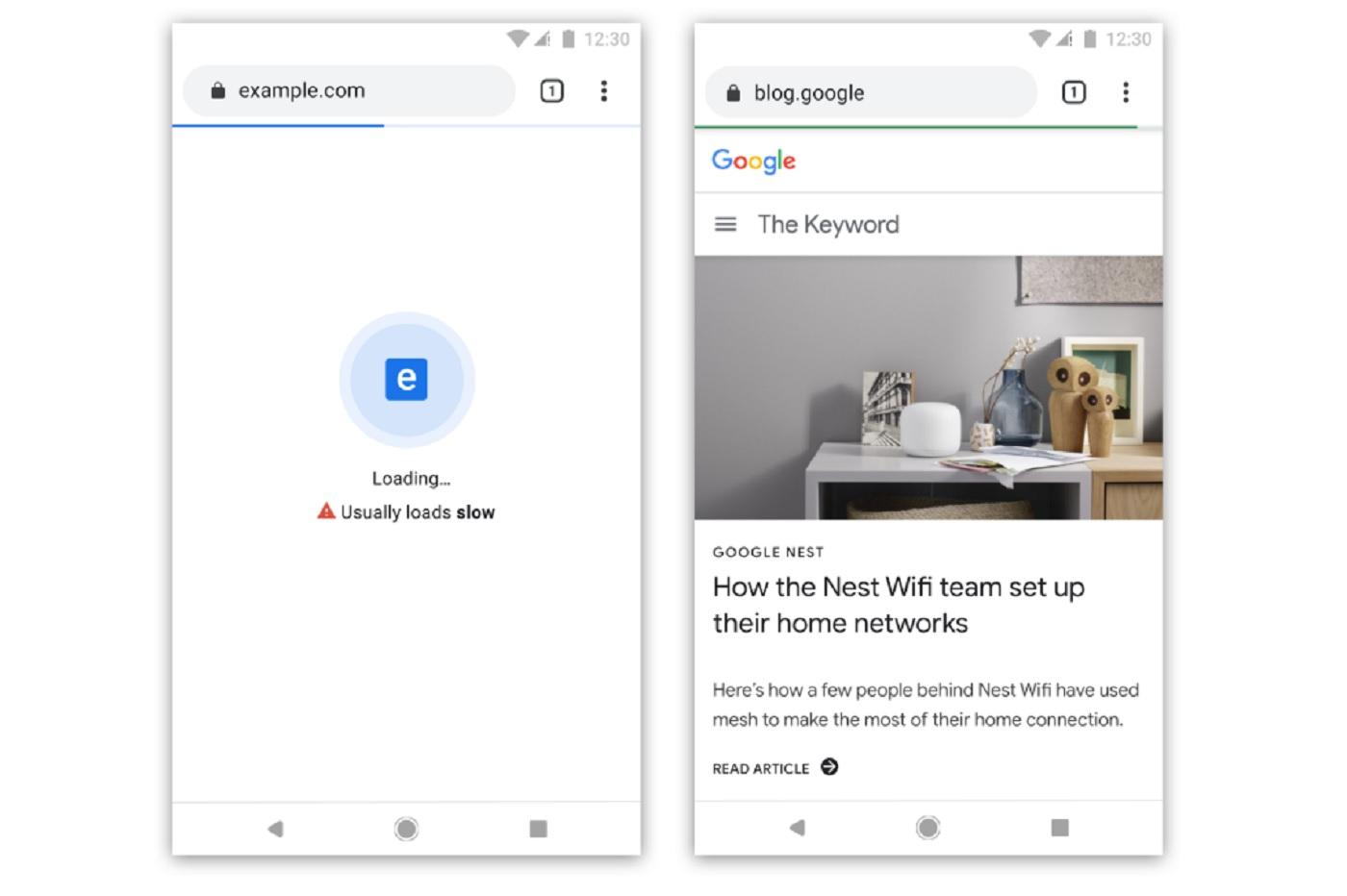 Google veut pénaliser les sites lents sur Chrome
