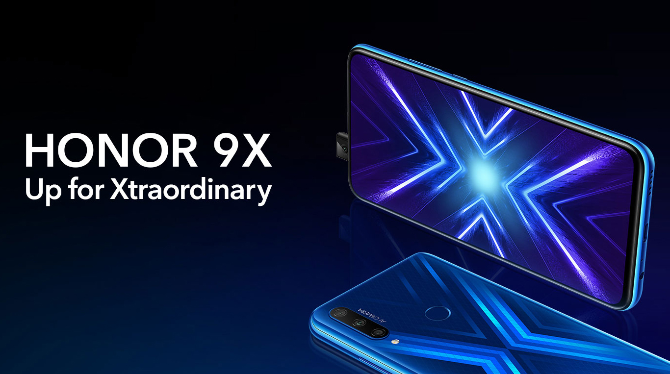 Le nouveau Honor 9X en France