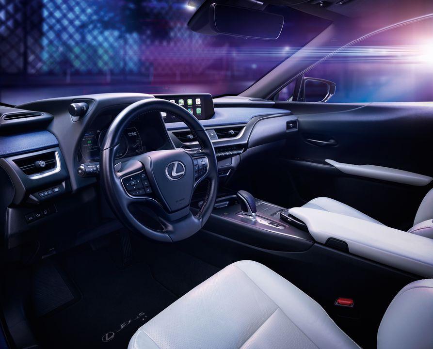 Le nouveau Lexus UX 300e