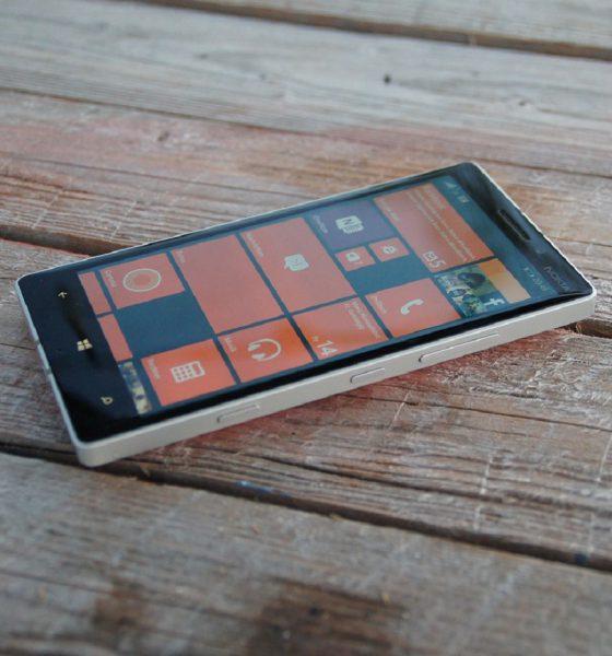 Microsoft Windows Phone sur un smartphone Nokia