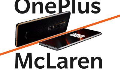 Le OnePlus 7T Pro en version McLaren Edition