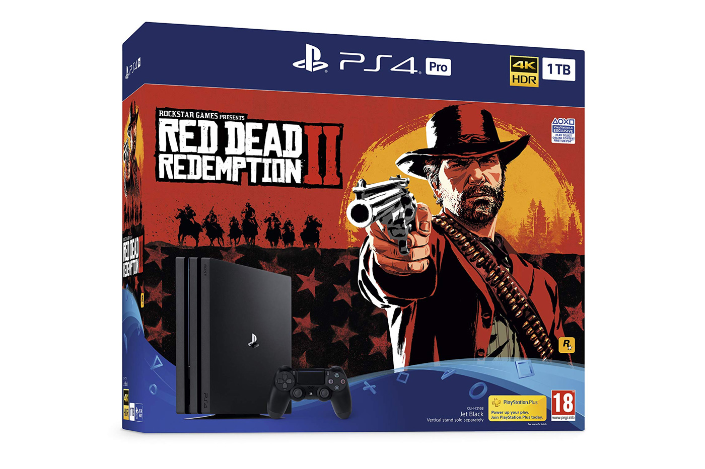 PS4 Pro Red Dead Black Friday