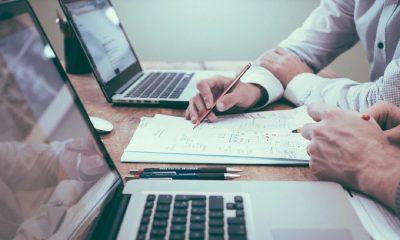 Réunion, startup, business plan, laptop, bureau, travail