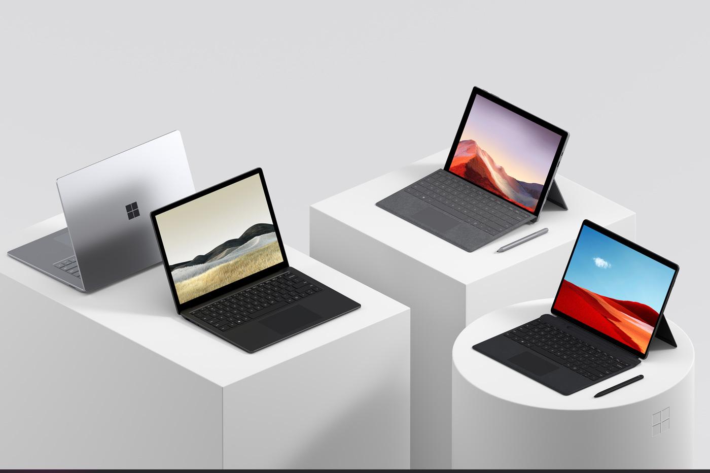 Surface Pro 7 Laptop 3