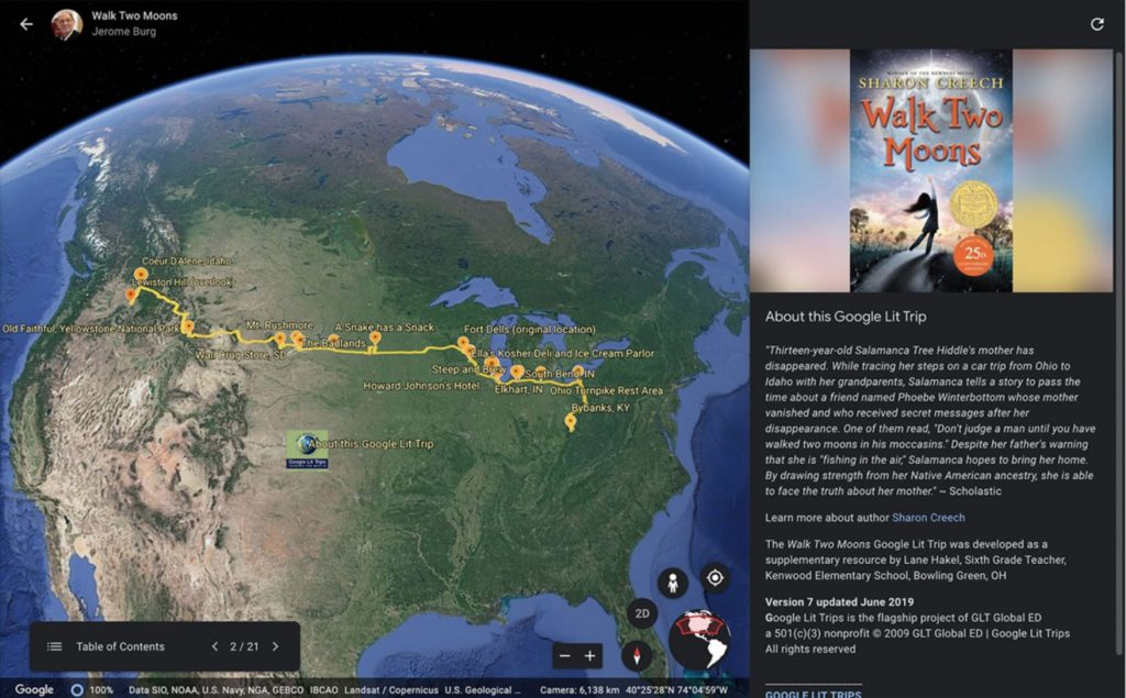 animation google earth