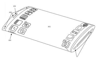 Apple brevet smartphone pliable