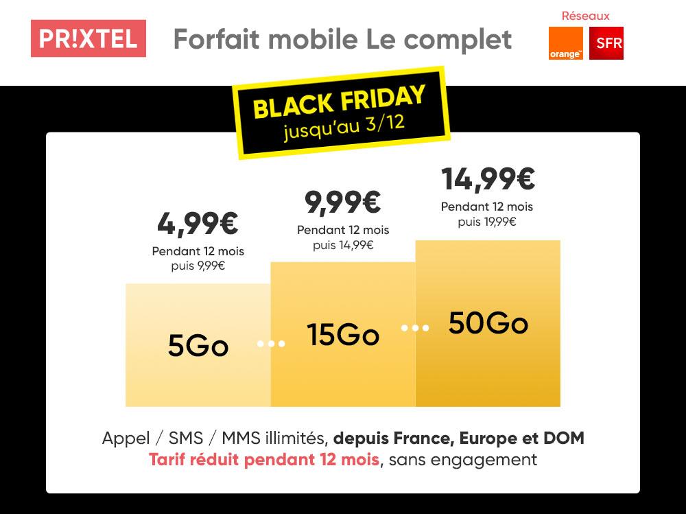 Black Friday Prixtel