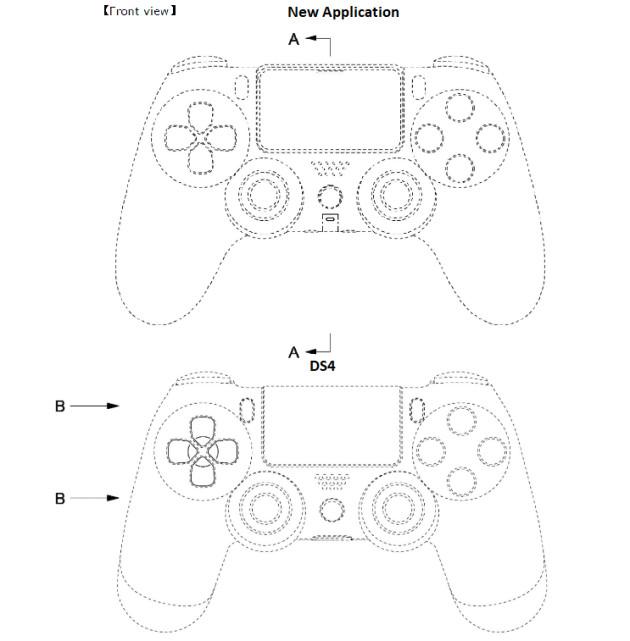 Croquis Manette PS5