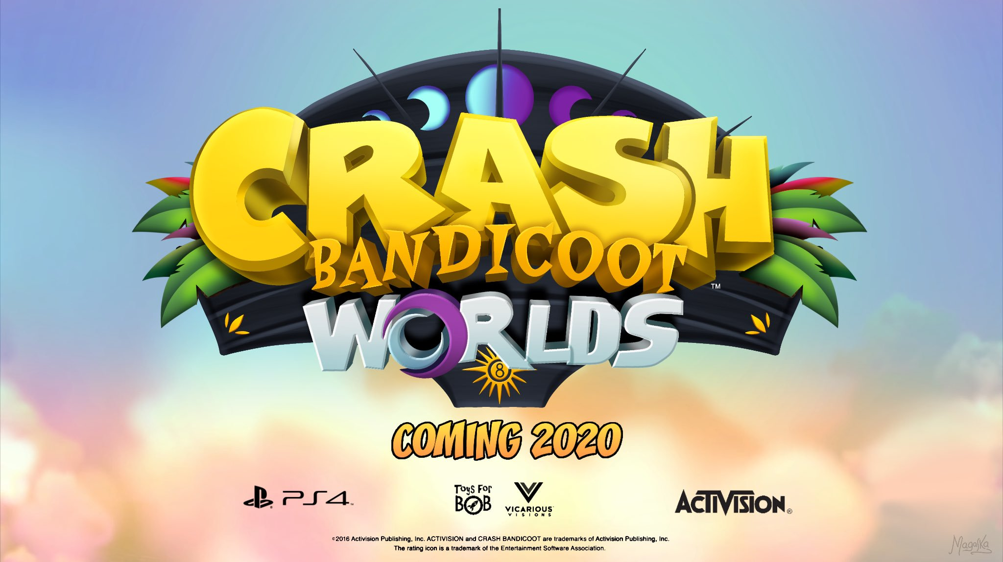 Crash Bandicoot Worlds