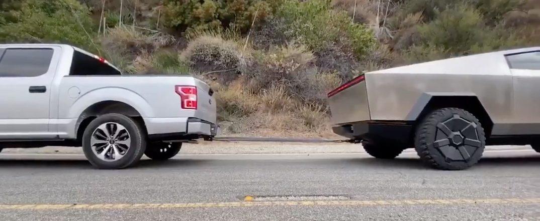 Cybertruck vs F150