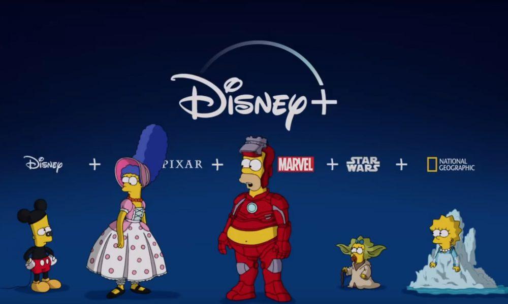 Disney plus simpsons