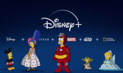 Disney plus simpsons