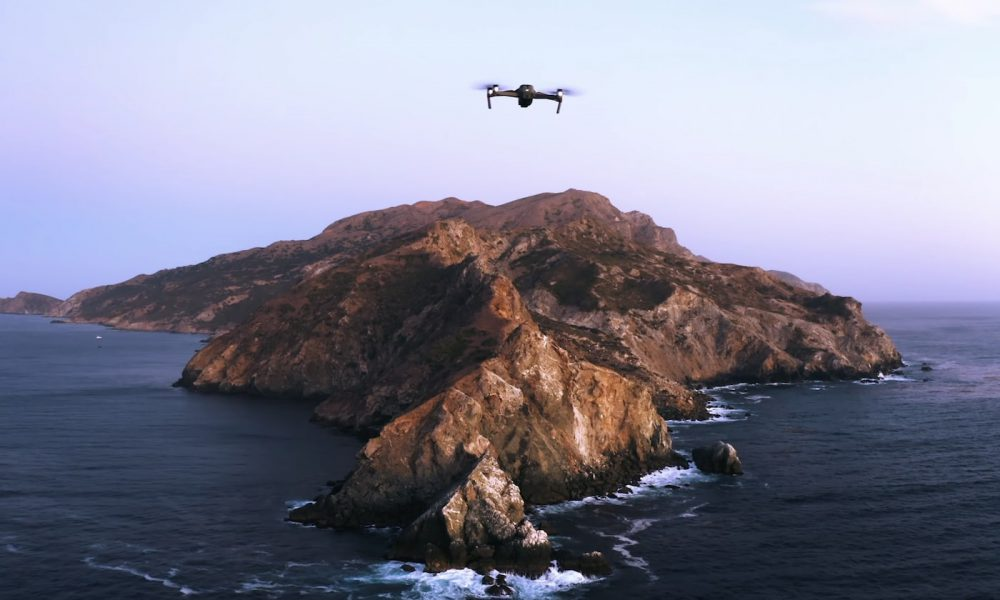 drone catalina apple wallpaper