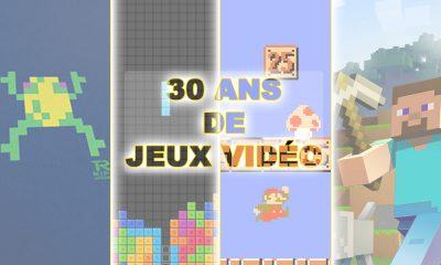 Evolution 30 ans vente jeux vidéo