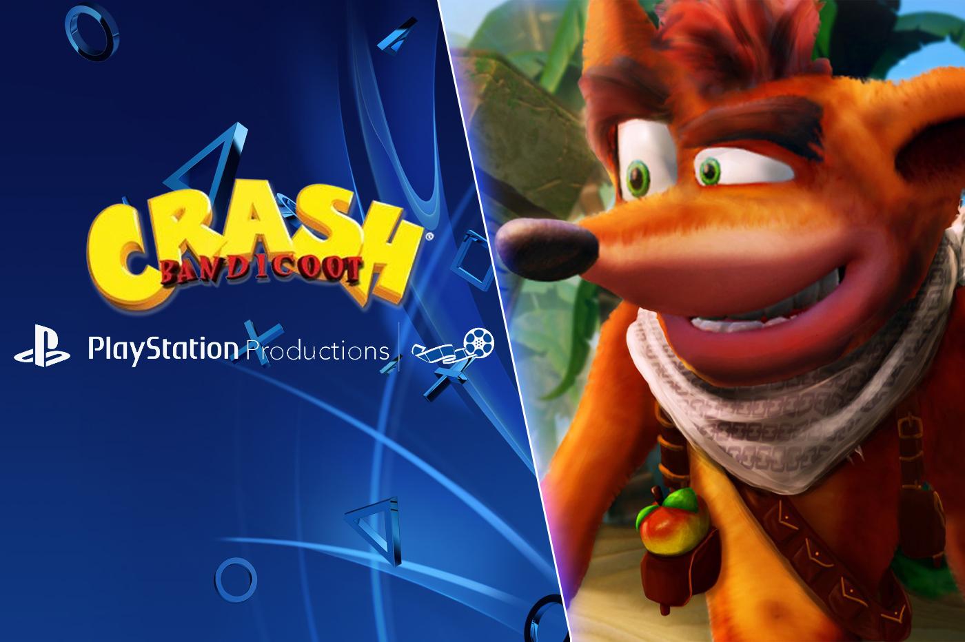 Crash Bandicoot Film Animation