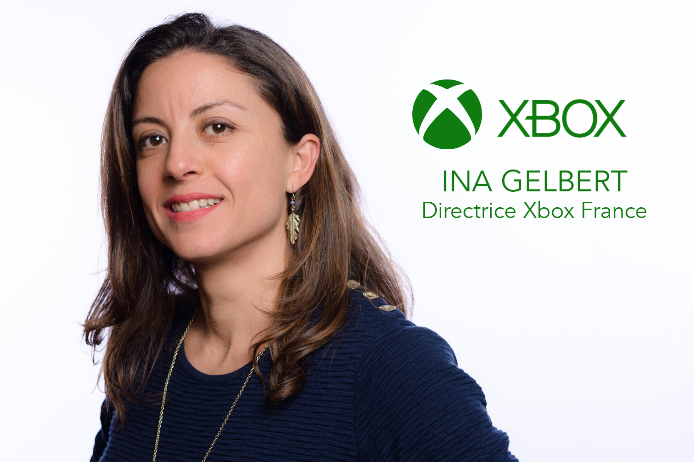 Ina Gelbert Directrice Xbox France