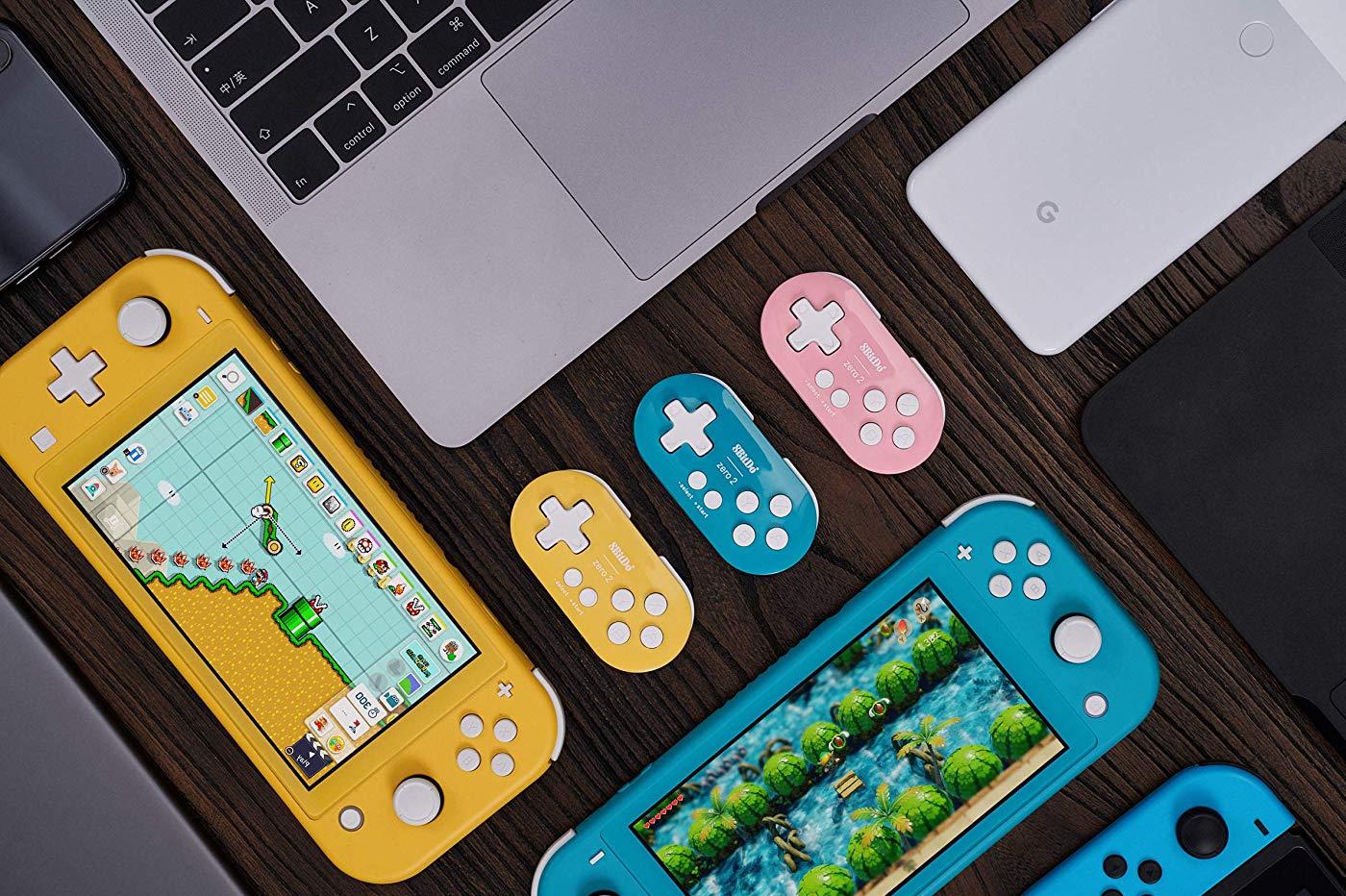 Nouvelles Manettes Minis Nintendo Switch