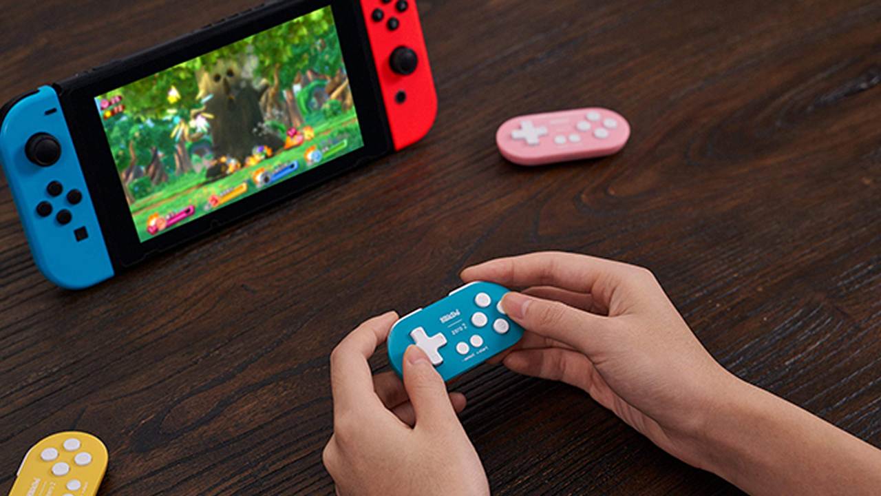Manette Switch Minuscules