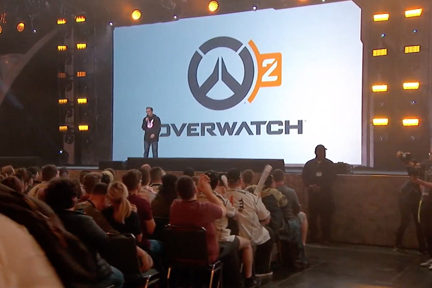 Announcement of Overwatch 2