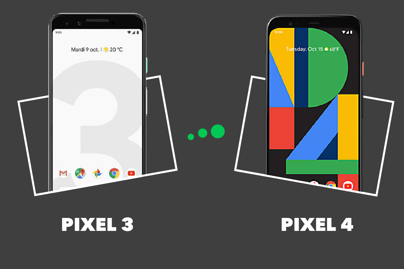 Google Pixel 3 vs Pixel 4