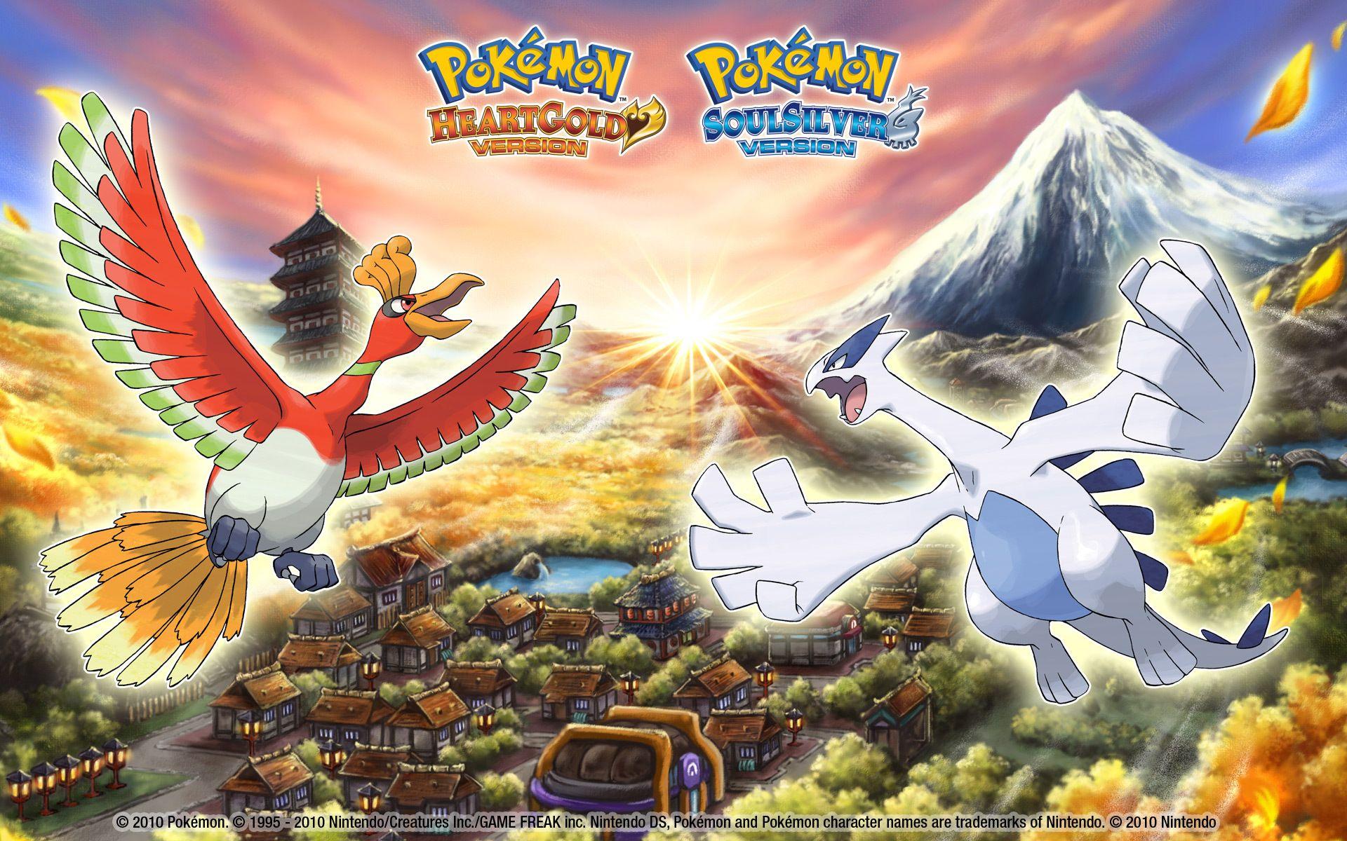 Pokémon Or et Argent Wallpaper
