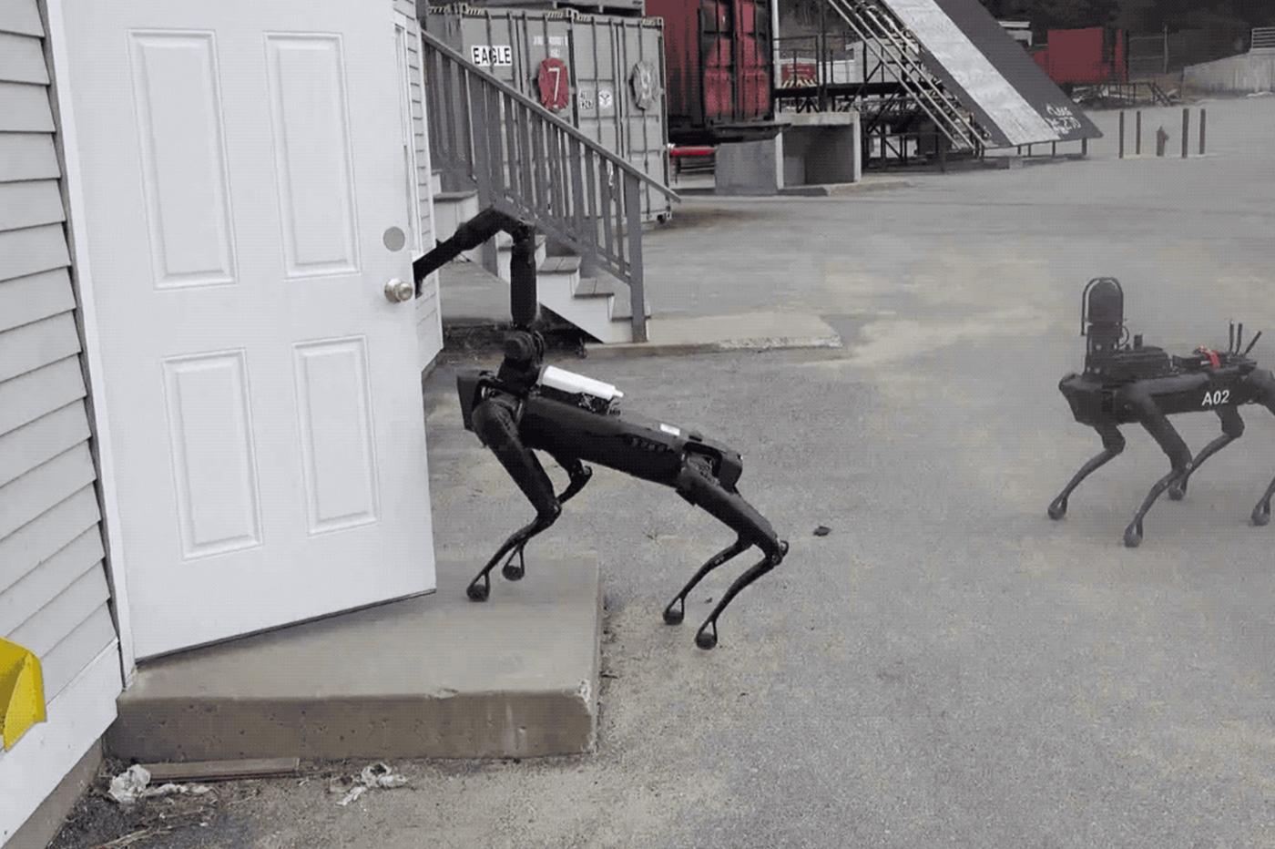 police robot Boston Dynamics