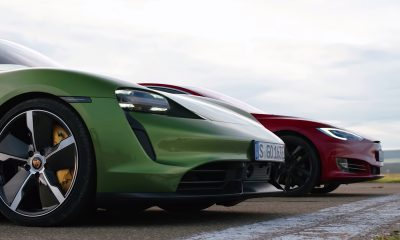 Tesla Porsche