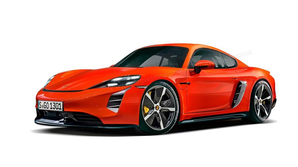 Porsche Cayman électrique