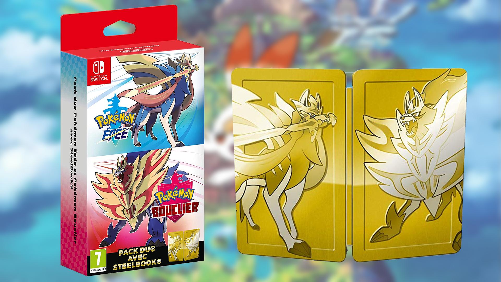 Préco Pokémon Épée et Bouclier Double Pack