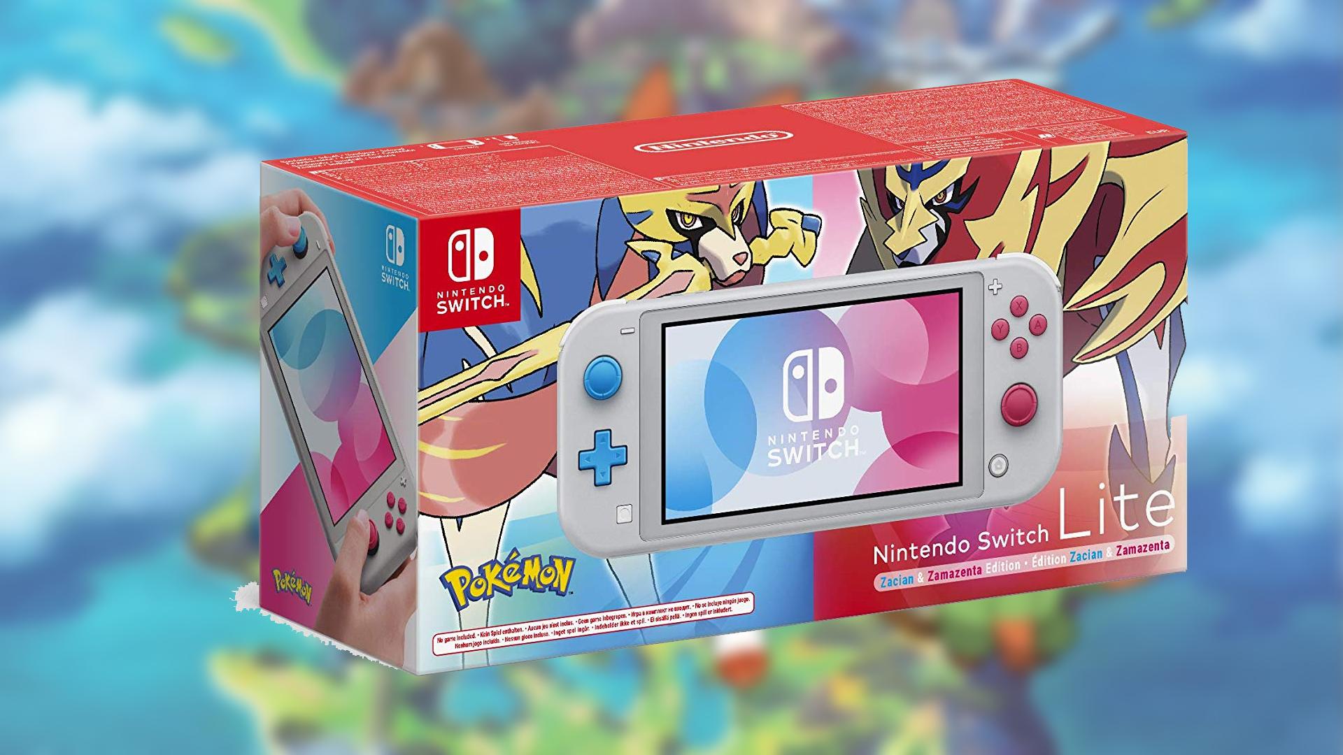 Préco Switch Lite Pokémon Épée et Bouclier