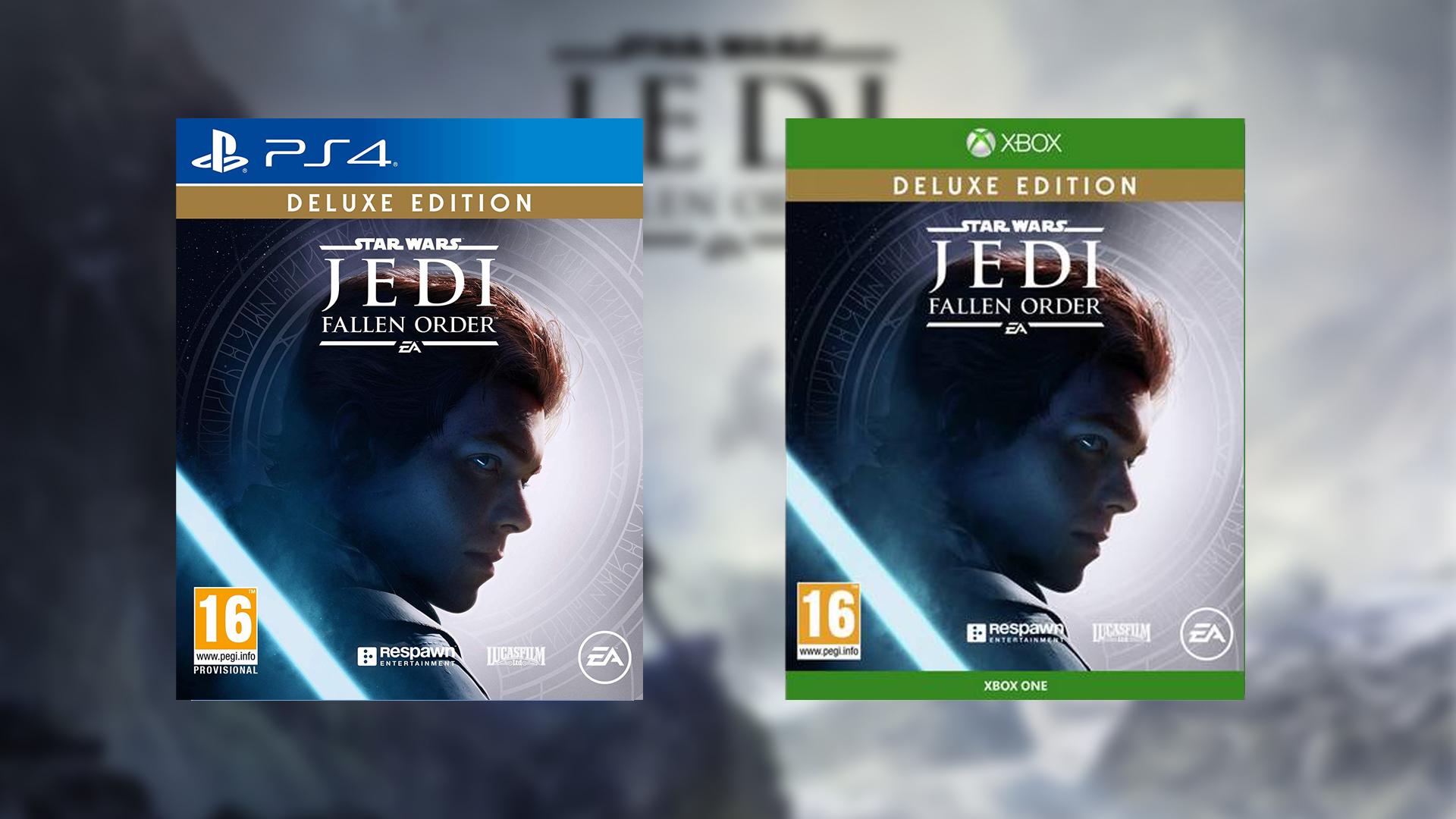 Préco Star Wars Jedi Fallen Order Deluxe