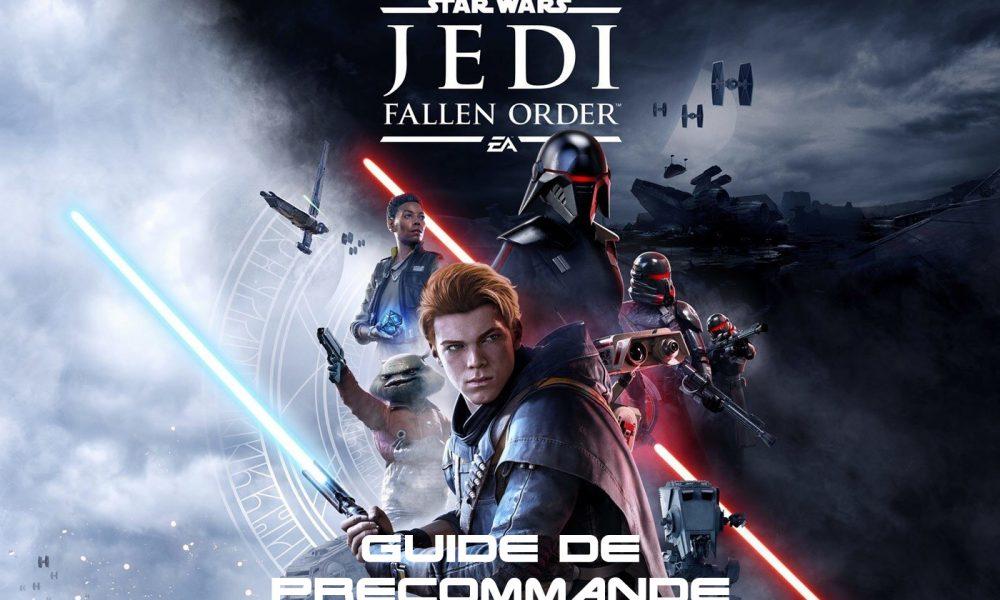Guide Précommande Star Wars Jedi Fallen Order