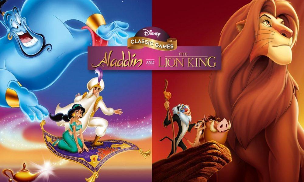 Test Disney Classic Aladdin & Le Roi Lion