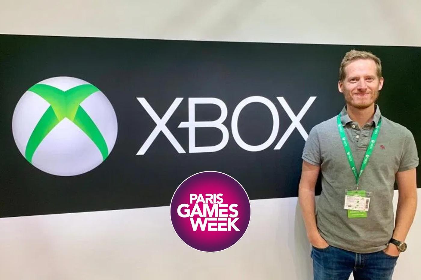 Vincent Desmazes Responsable des Services Xbox