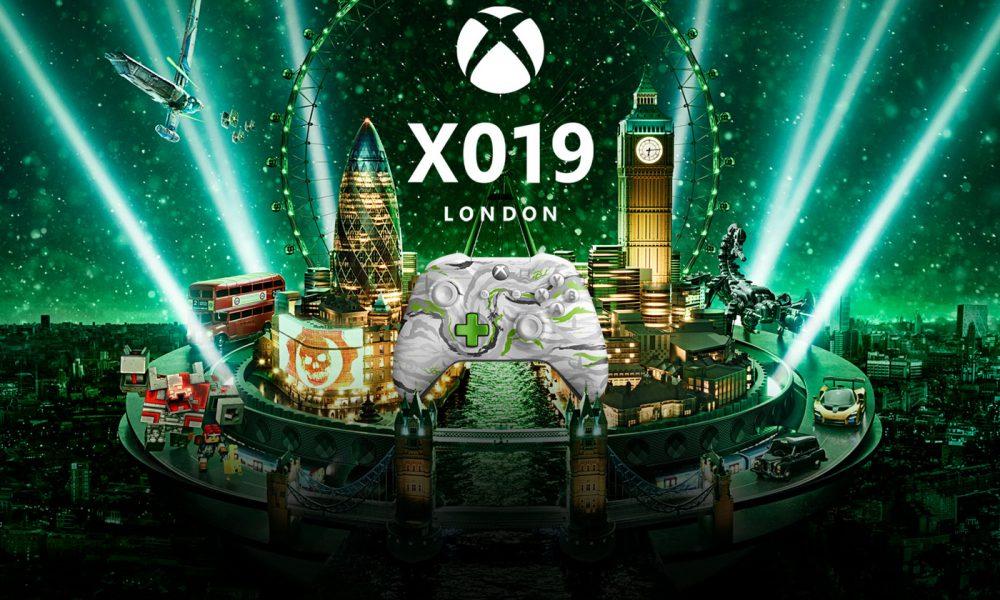 Xbox X019 Live Londres