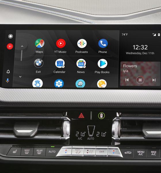 Android Auto à bord d'une BMW