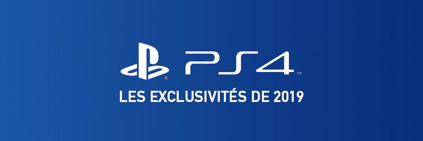 Jeux PS4 2019