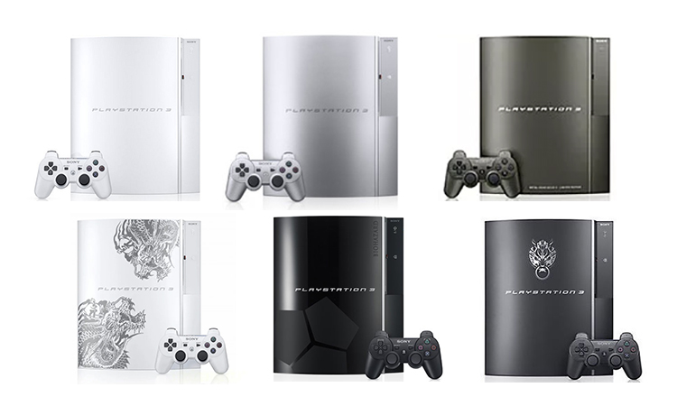 PS3 couleurs