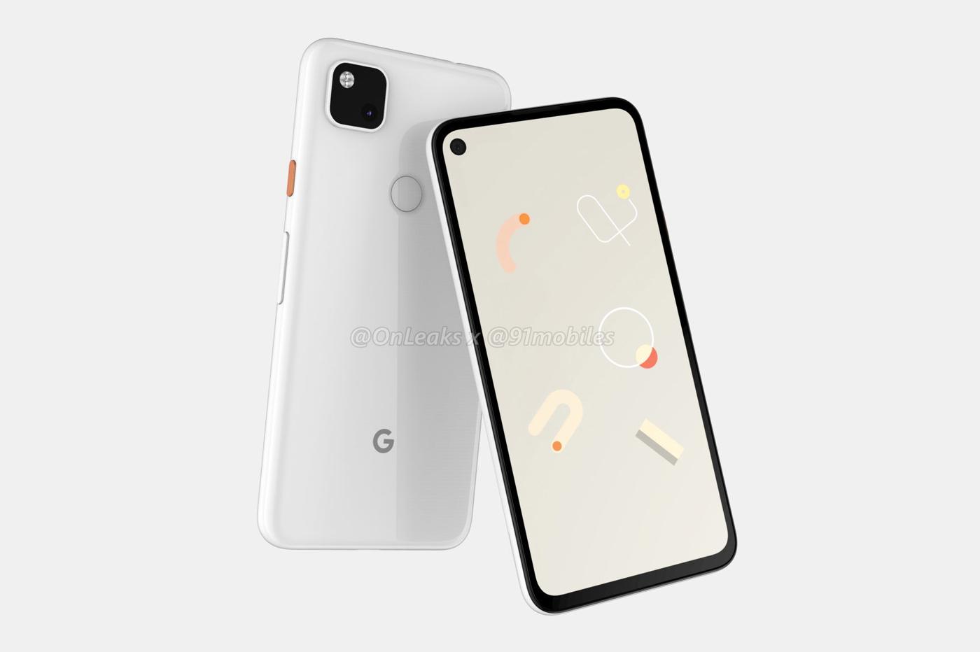 Google Pixel 4a fuites