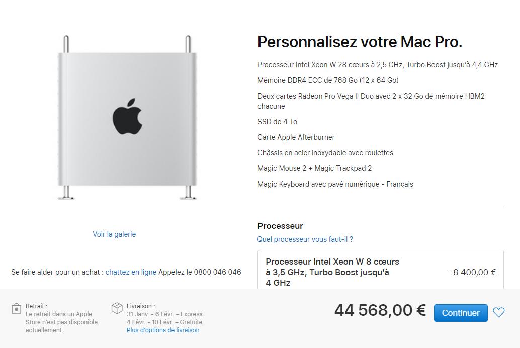 Nouveau Mac Pro 2019