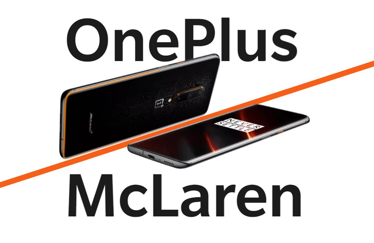 Le OnePlus 7T Pro McLaren Edition