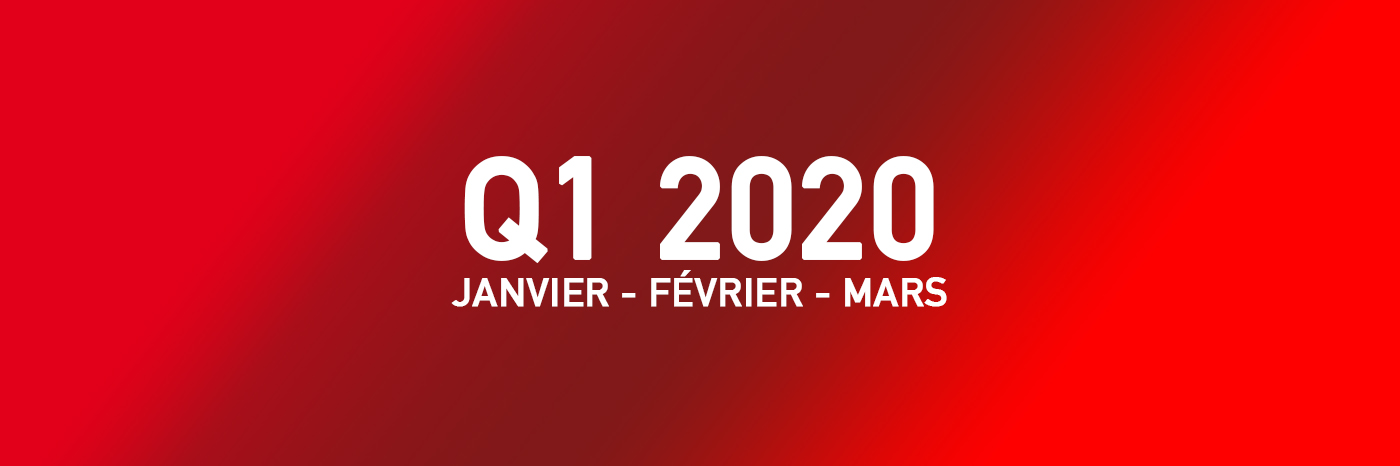 Jeux Vidéo Q1 2020