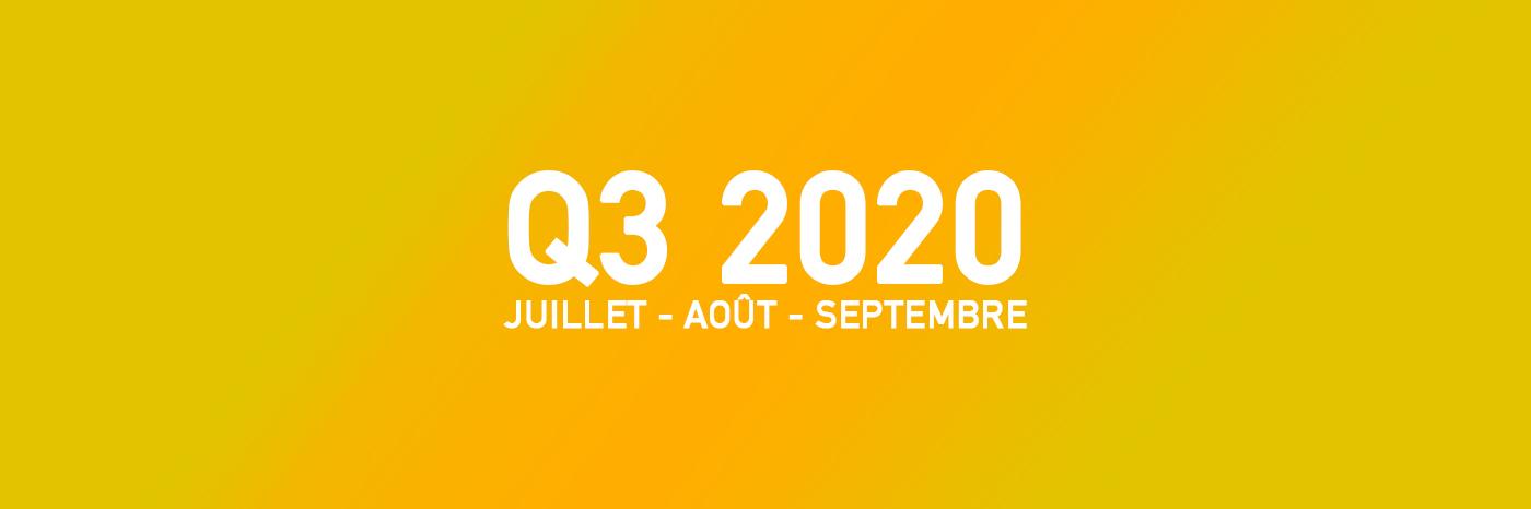Jeux Vidéo Q3 2020