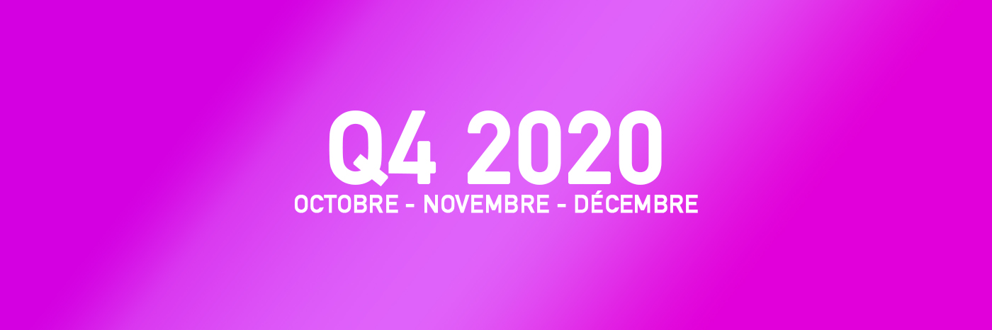 Jeux Vidéo Q4 2020