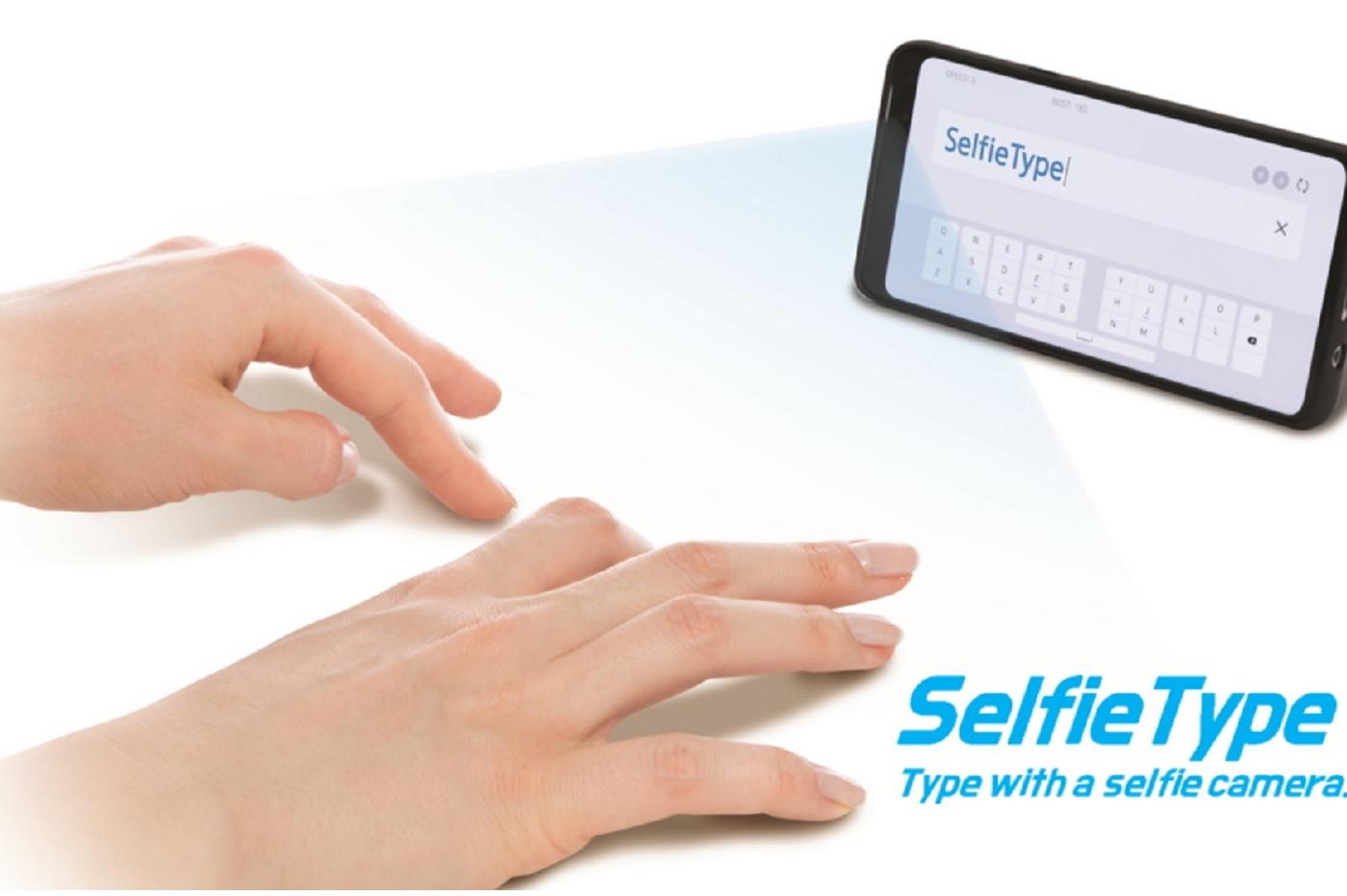 Selfie Type, le clavier virtuel de l'incubateur de Samsung