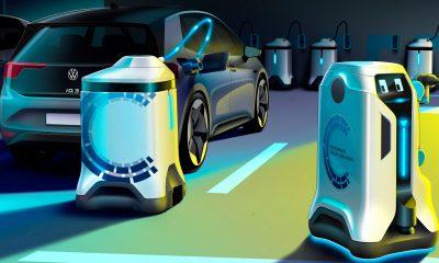 Volkswagen Concept Recharge Robots